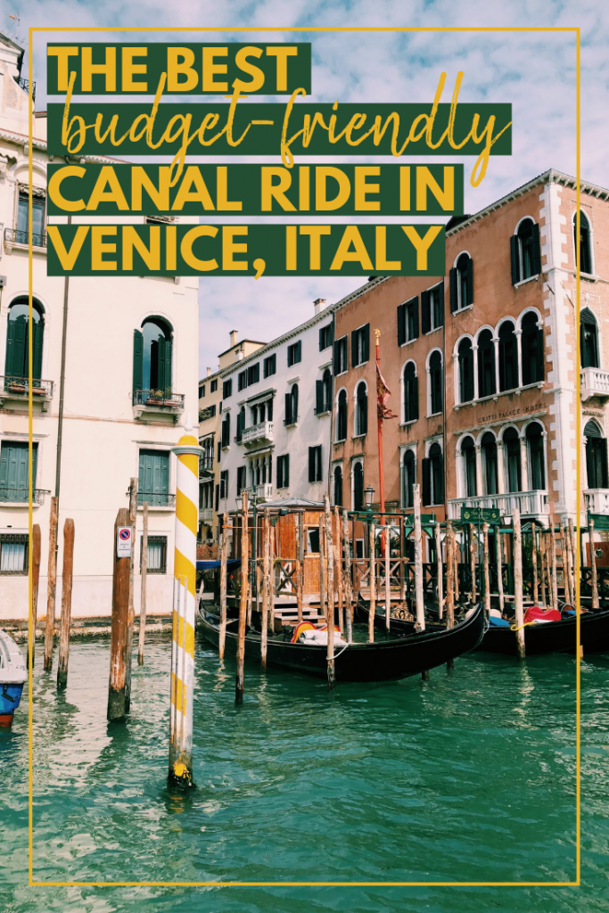 Budget-Friendly Boat Ride Venice Italy