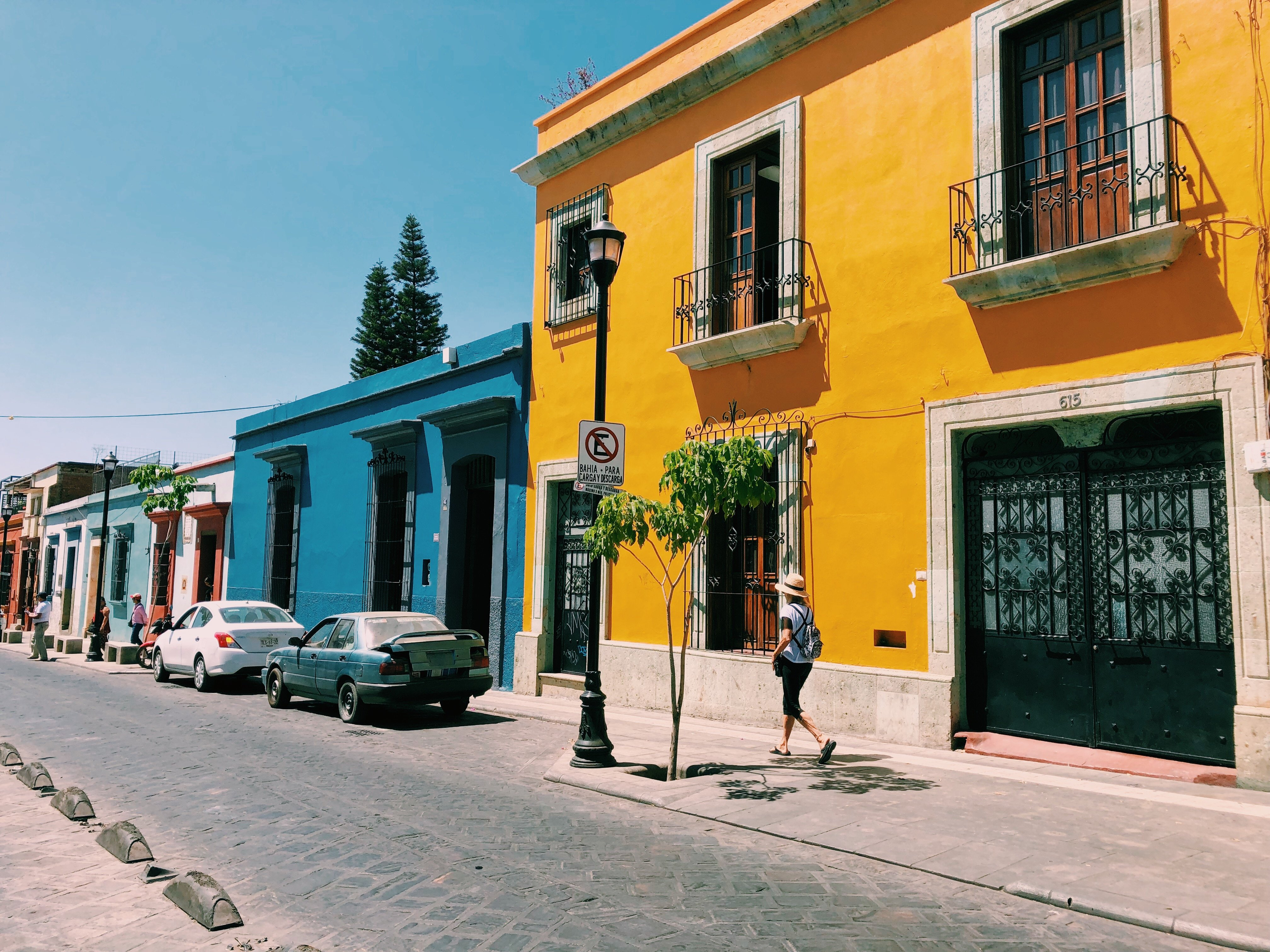 Oaxaca City Streetscape