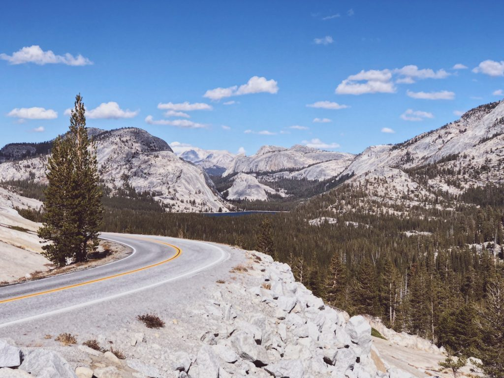 Olmsted Point Yosemite National Park