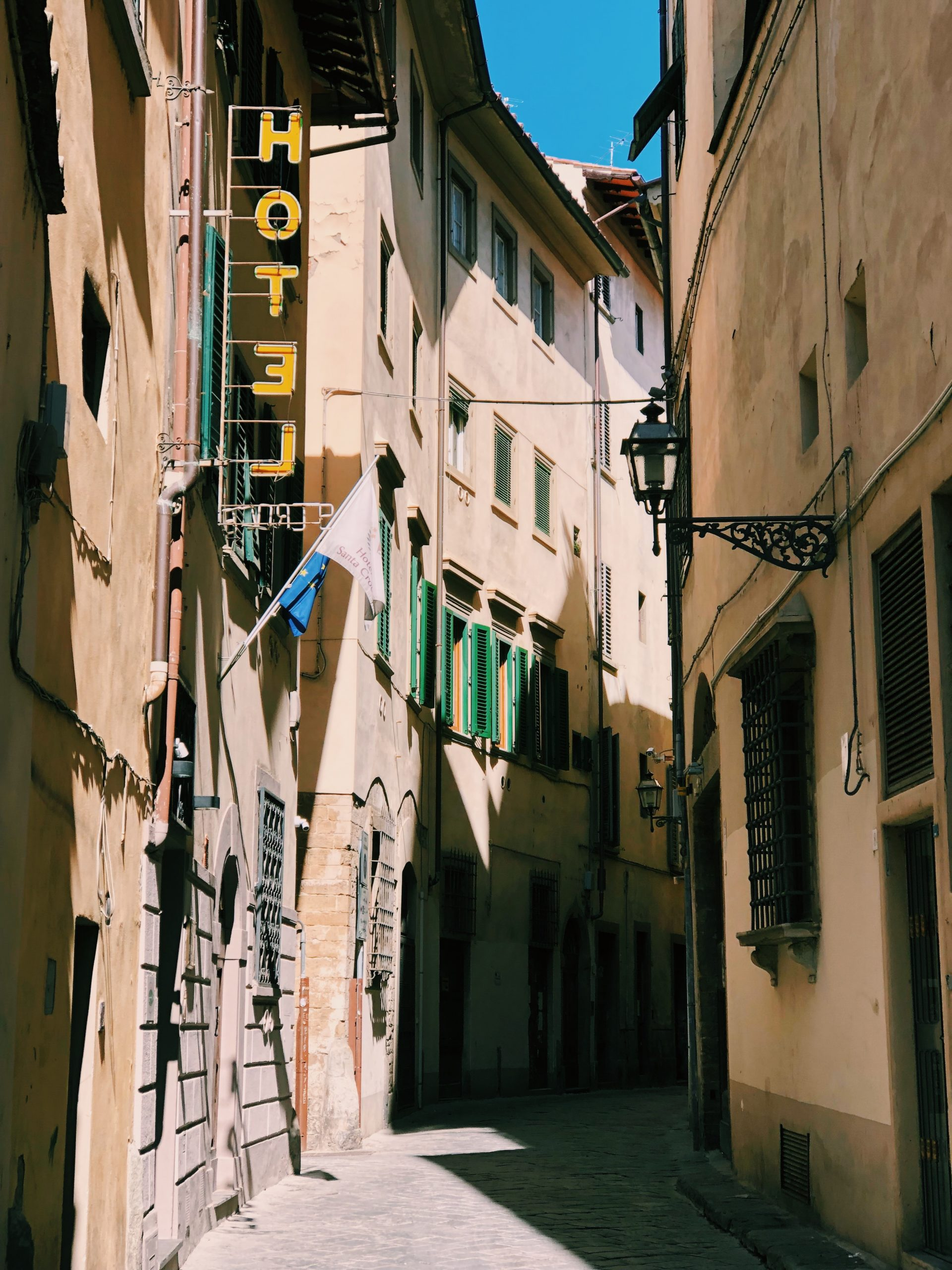 self guided walking tour of florence, italy